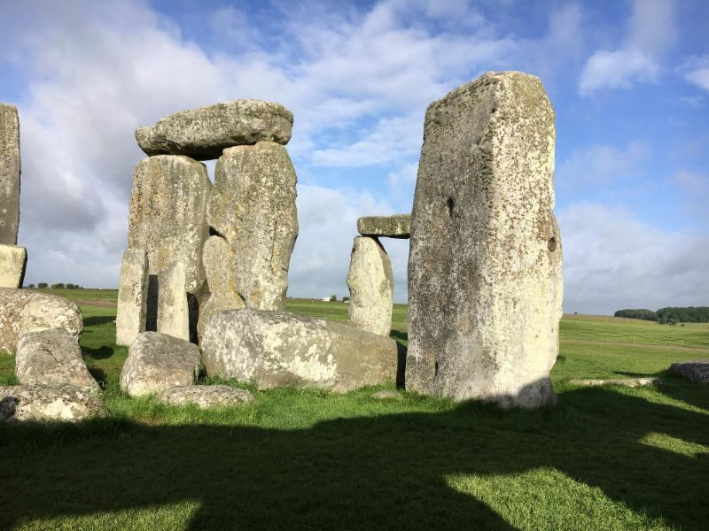 Stonehenge shadow