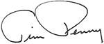 Tim Penny signature
