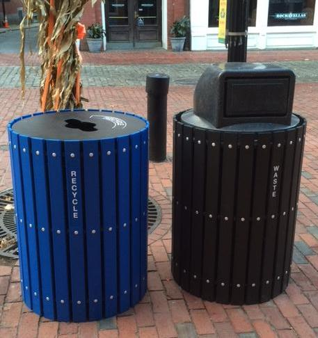 Salem's new recycling bins