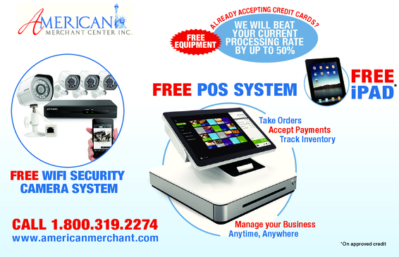 Free Ipad with Purchase of POS System