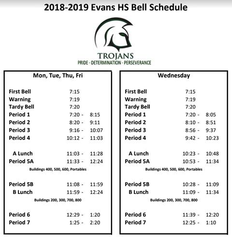 Ocps 2019 Calendar July 25, 2018   Evans Hs