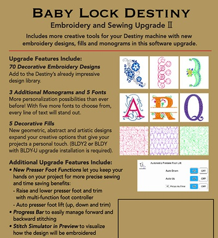 Huge 50th Anniversary Baby Lock Sale