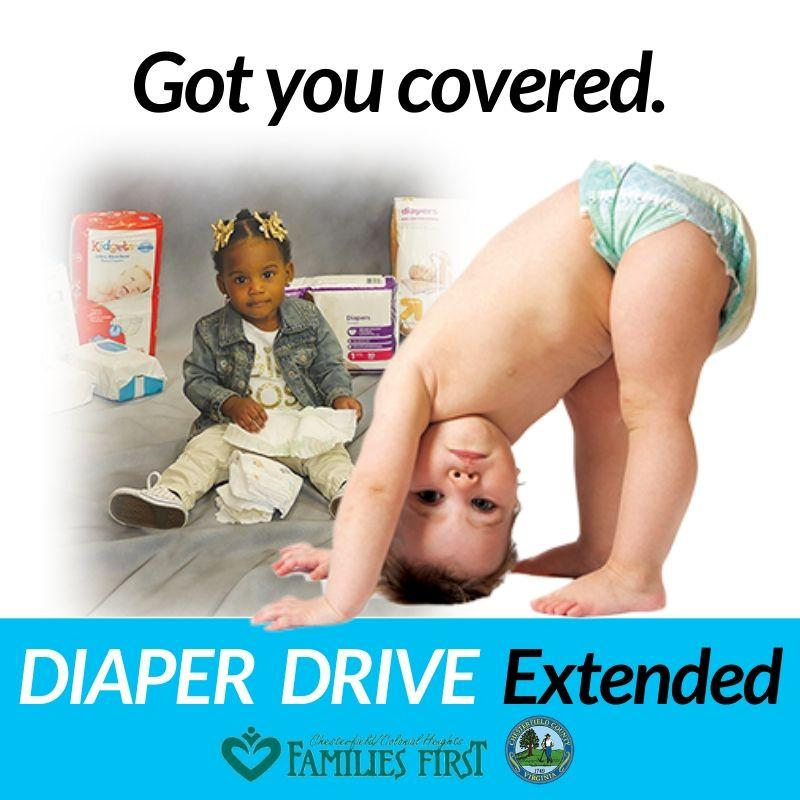 Diaper Drive Extended - Got you covered.