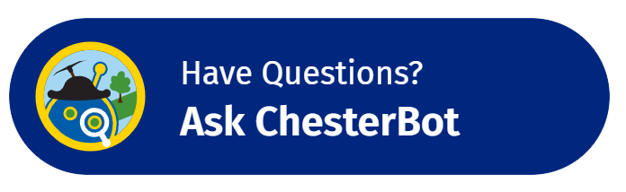 ChesterBot Avatar - Button - Have Questions - Ask ChesterBot