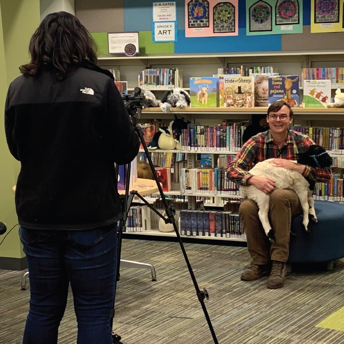 CCPL - Story Time - Cheryle Rodriguez and Jesse Kelley