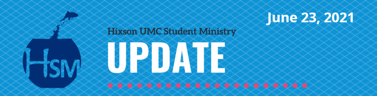 Student Ministry Update