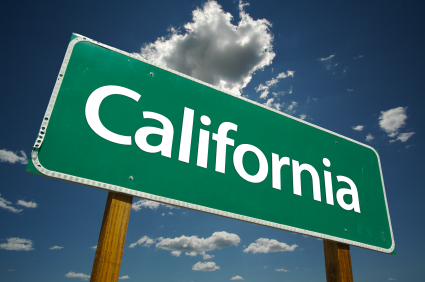 California sign