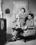 Vintage TV shot
