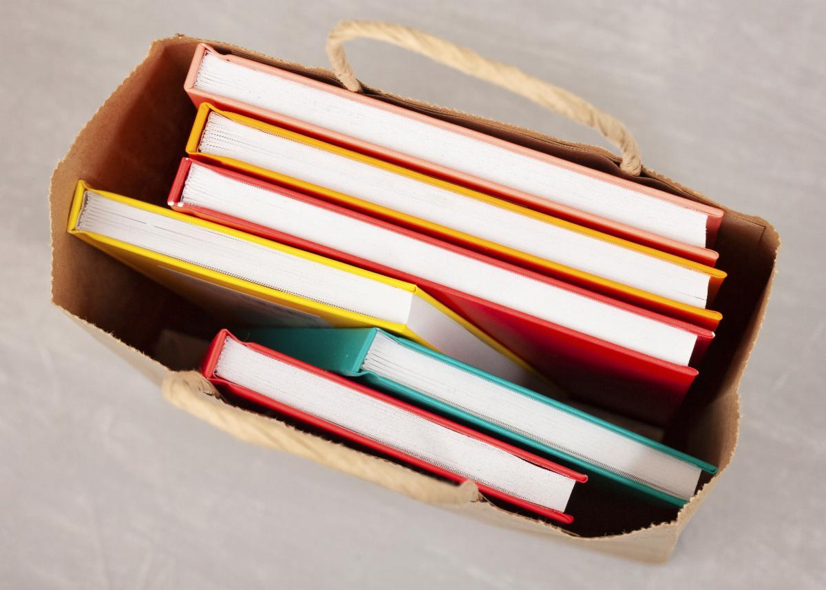 Books in Bag-copyrighted image