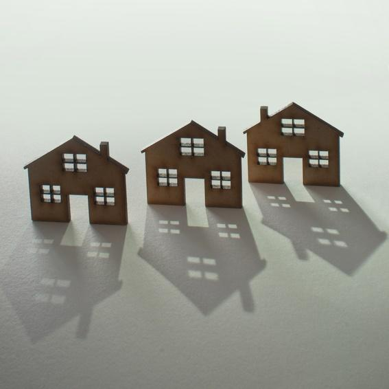 Houses in Shadow-copyrighted image