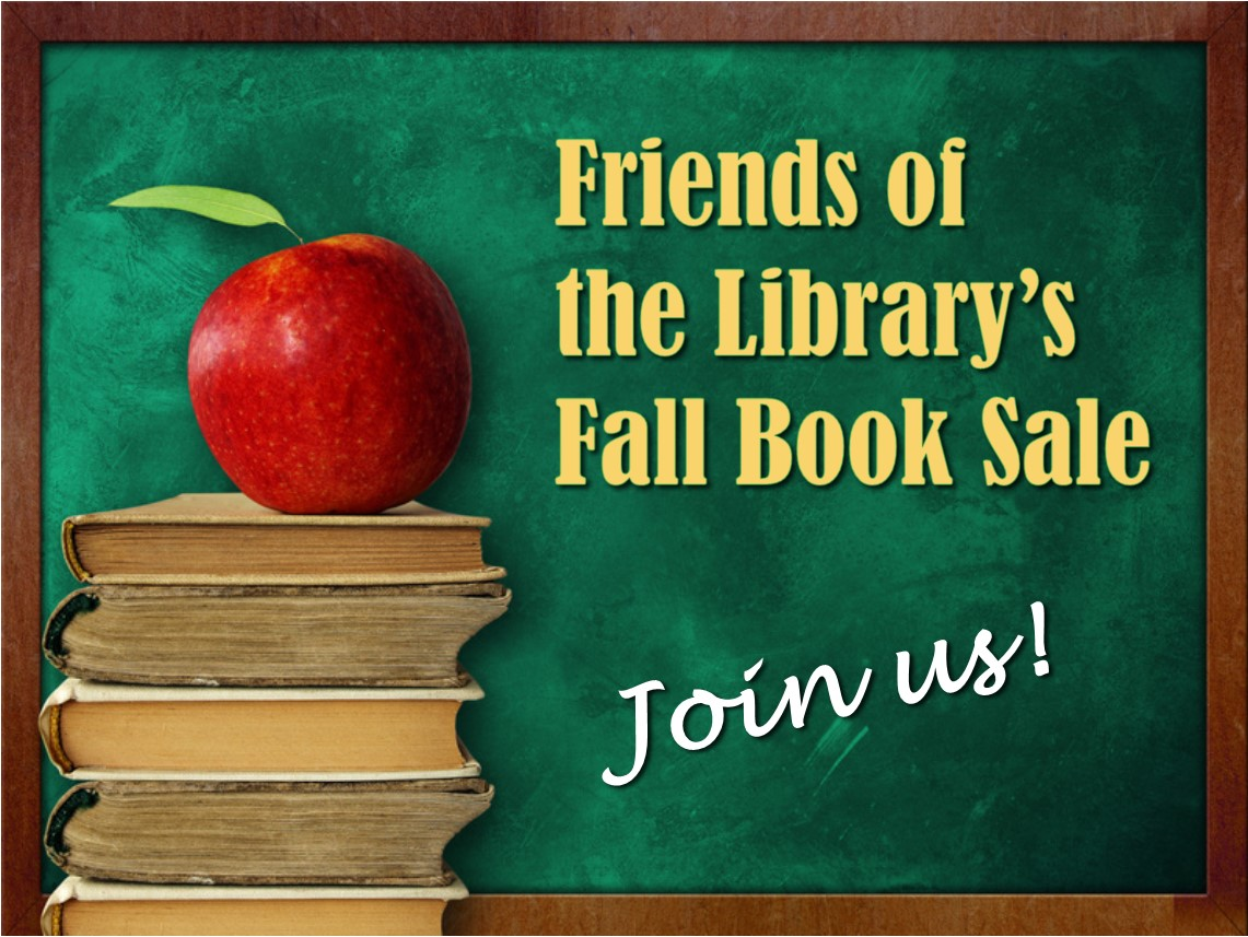 Fall Book Sale-copyrighted background image