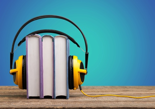Headphone Books-copyrighted image