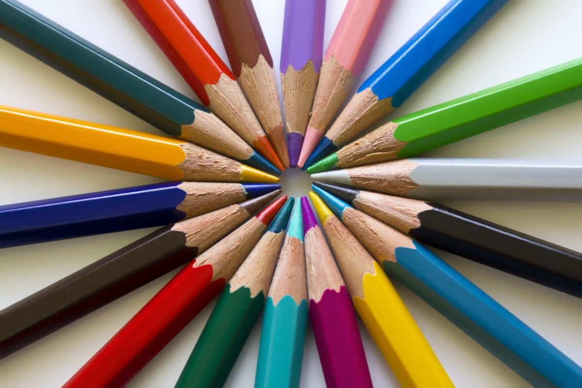 Pencils Multi-Colored-copyrighted image