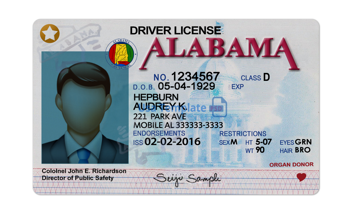 AL Drivers License
