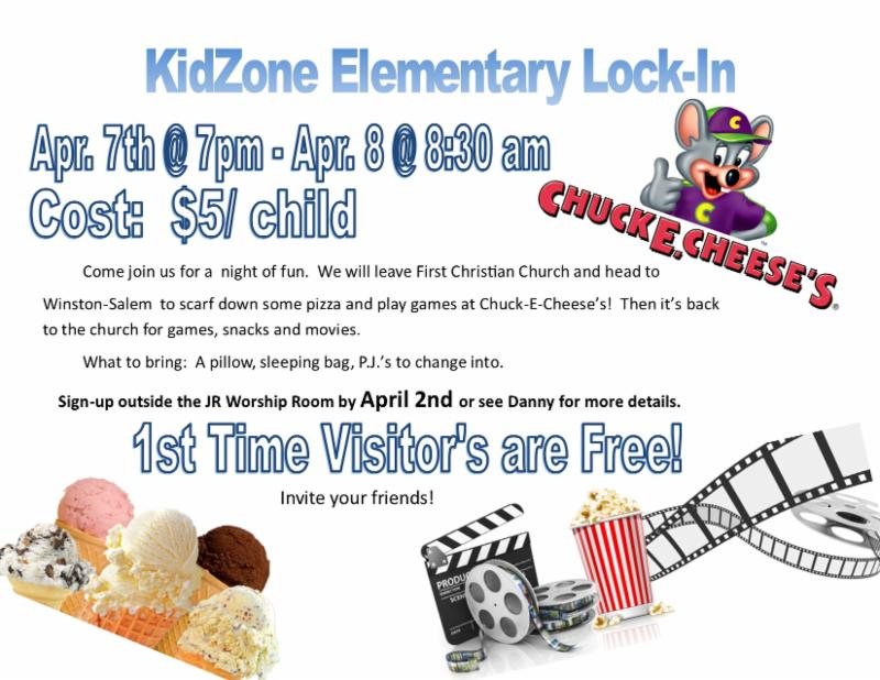Important KidZone News
