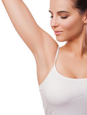 underarm model