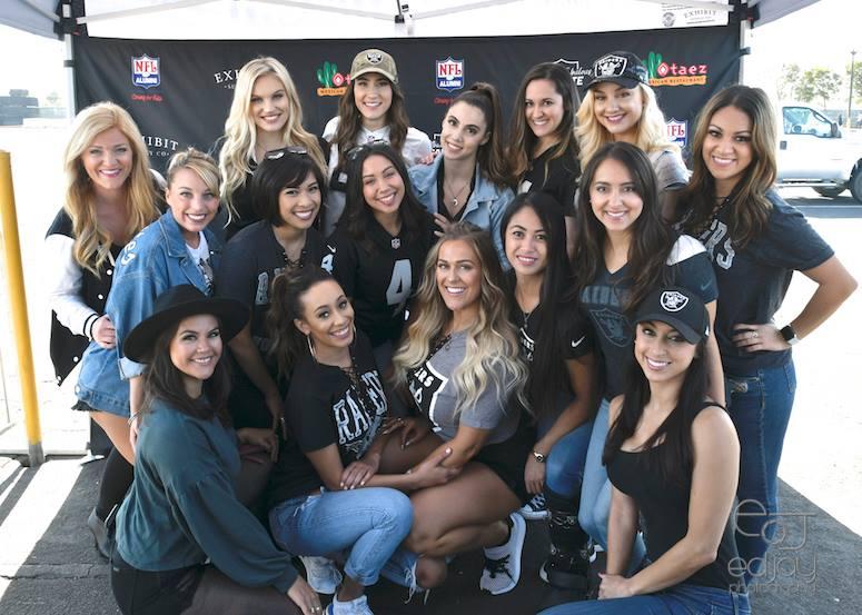 10-8-18 - Oakland Raiderettes - Ed Jay