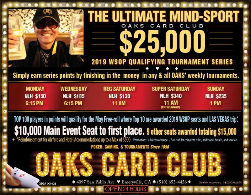1-28-19 - Oaks Card Club