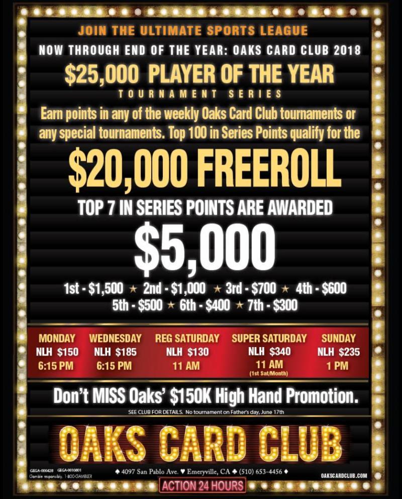 5-27-19 - Oaks Card Club
