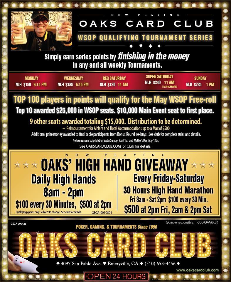 Oaks Card Club