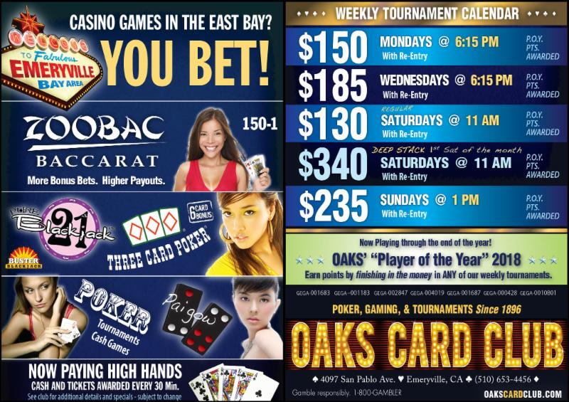 11-19-18 - Oaks Card Club
