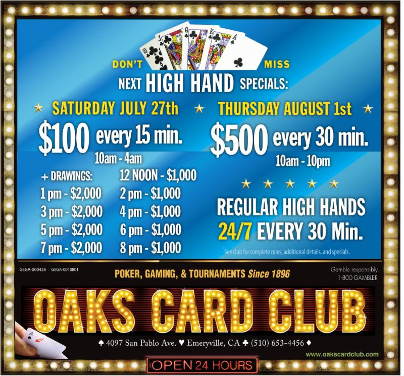 Oaks Card Club