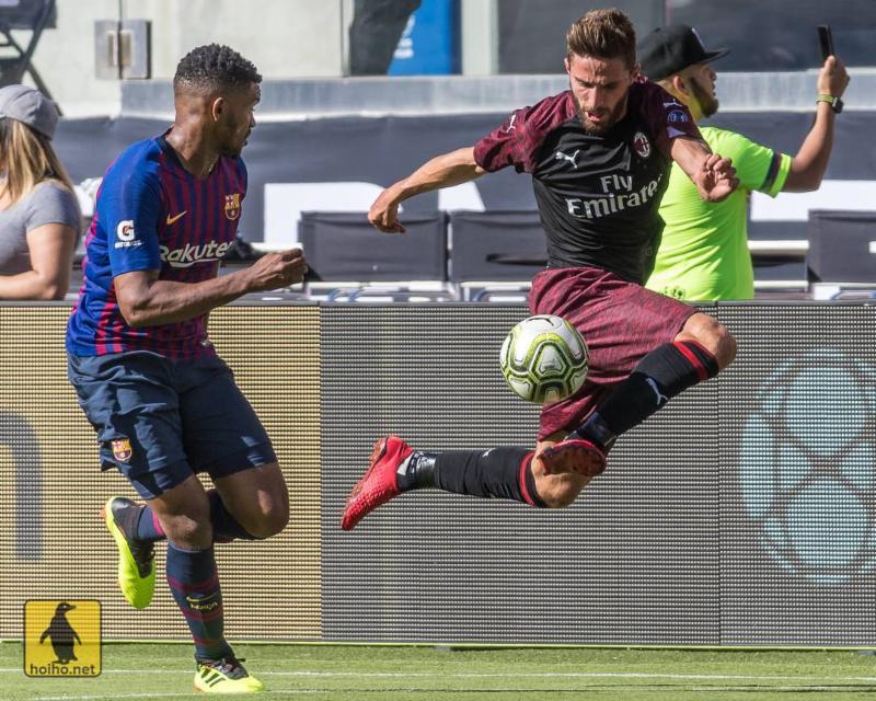 8-6-18 - AC Milan - Alex Ho