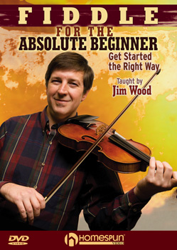 Jim Wood-Fiddle absolute beginner