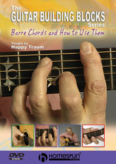 Happy Traum - Building Blocks No 1 - Barre Chords