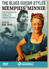 Del Rey Blues Guitar Styles of Memphis Minnie