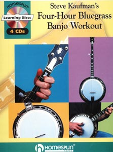 Steve Kaufman Four Hour Banjo Workout