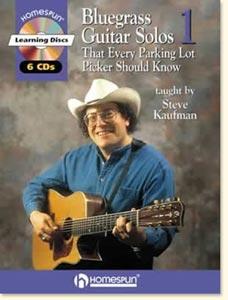 Steve Kaufman Parking Lot - Guitar - Series 1