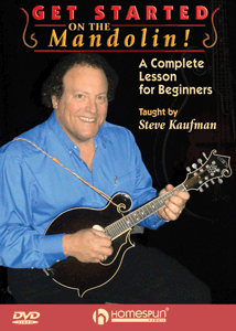 Steve Kaufman mandolin Get Started