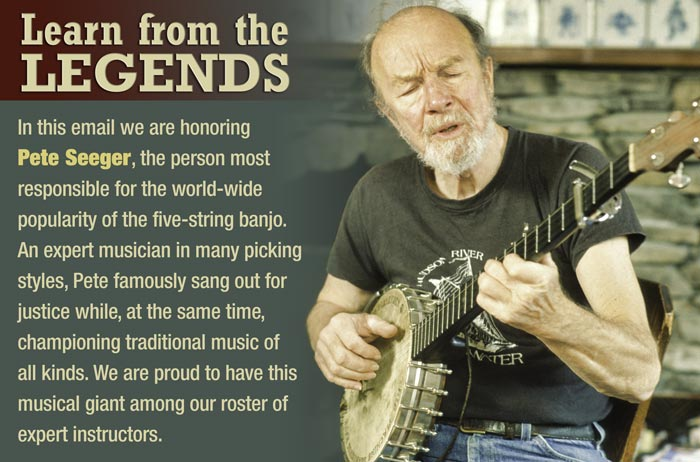 Learn from the Legends - Honoring Pete Seeger