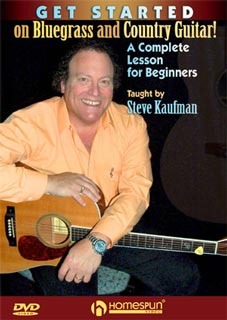 Steve Kaufman Get Started Bluegrass and Country Guitar