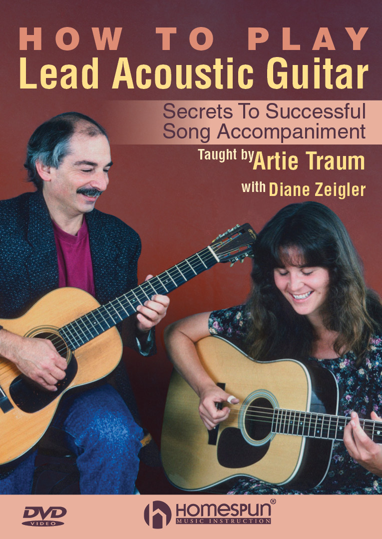 Artie Traum with Diane Zeigler - How to Play Lead Acoustic Guitar