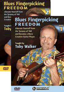 Blues Fingerpicking Freedom