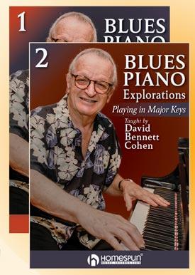 Blues Piano Explorations buy David Bennet Cohen