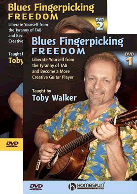 Toby Wlaker Blues Fingerpicking Freedom