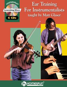 Matt Glaser - Ear Training book and CDs