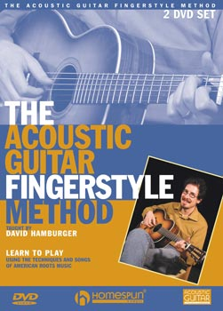 The Acoustic Guitar Fingerstyle Method Two DVD Set by David Hamburger