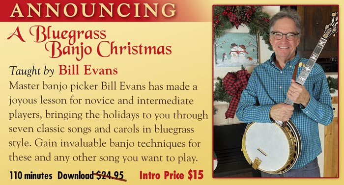 Bill Evans - A Bluegrass Banjo Christmas