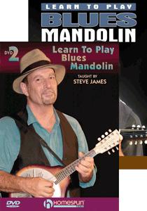 Steve James - Learn Blues Mandolin