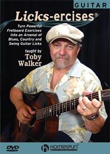 TobyWalker Licks-ercises - guitar