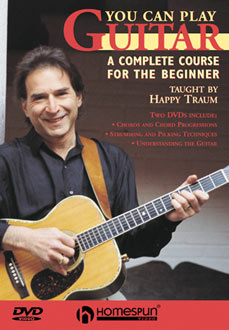 Happy Traum - You Can Play Guitar