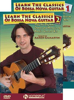 Bossa Nova Guitar Two DVD Set by Aaron Gilmartin