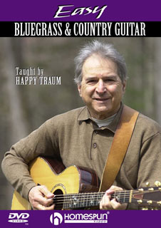Happy Traum - Easy Bluegrass and Country Guitar