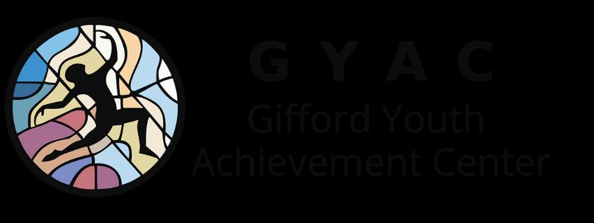 GYAC logo horizontal black font