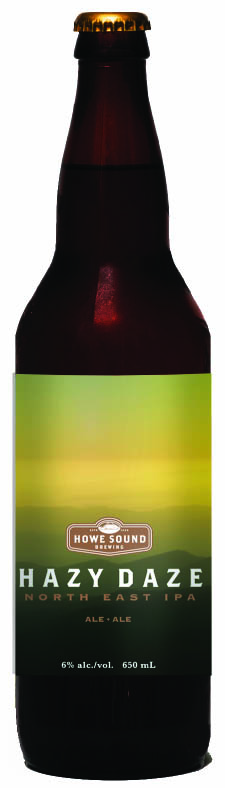 Hazy Daze North East IPA – Howe Sound Brewing & Inn