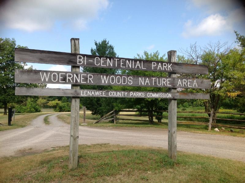 Bi-Centenial Park sign